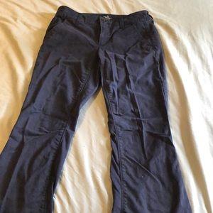 AEO artist stretch Navy pants